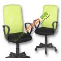 Chaise de bureau noir et pistache