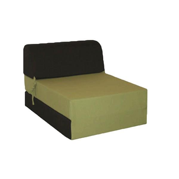 canap s lit une place en vert noir. Black Bedroom Furniture Sets. Home Design Ideas