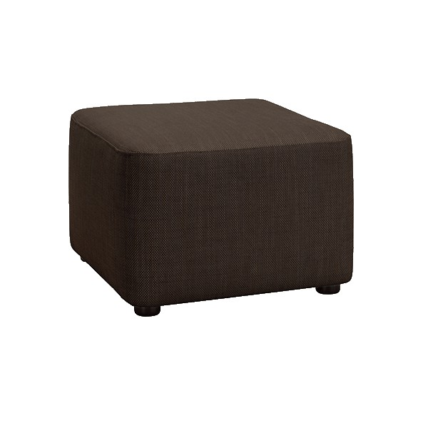 pouf d coratif pour salon coloris brun. Black Bedroom Furniture Sets. Home Design Ideas