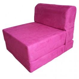 Canapés lit une place coloris Rose