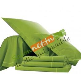 Parure de lit Vert pistache