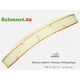 190 x 160 cm Matelas ressort Confortex Orthopédique