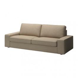 Canapé 3 places pour salon coloris beige
